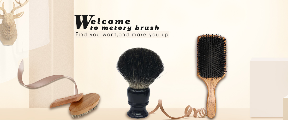 Various makeup brush and shaving brush for option.