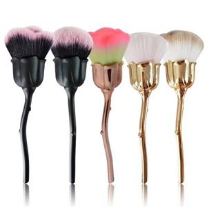 1pcs rose flowers type makeup brush